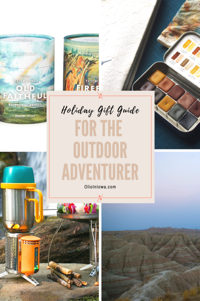 Discover unique gifts for the outdoor adventurer in your life! Shop Olio in Iowa's 2017 Holiday Gift Guide now!
