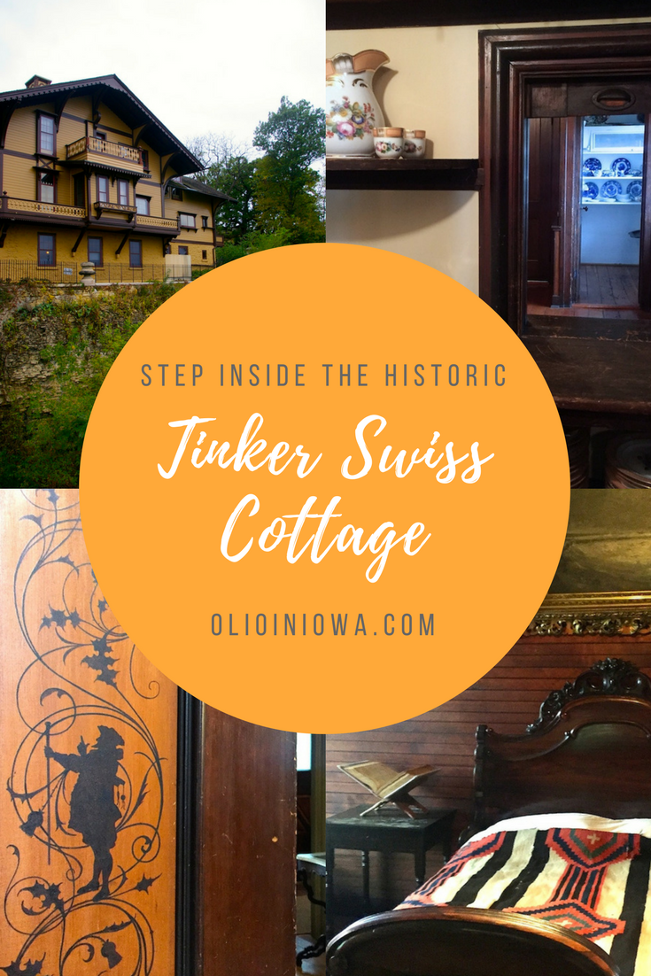 Step inside this unique 27-room Swiss style cottage in Rockford, Illinois! The Tinker Swiss Cottage is a hidden historic gem along the Kent Creek.