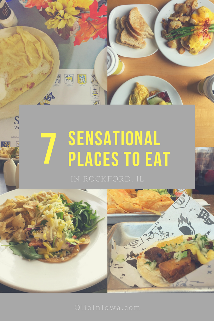 Searching for the perfect places to eat in Rockford, Illinois? Look no further than these seven sensational eateries!