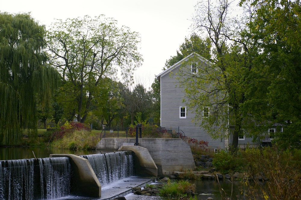 Historic Beckman Mill near Beloit, Wisconsin