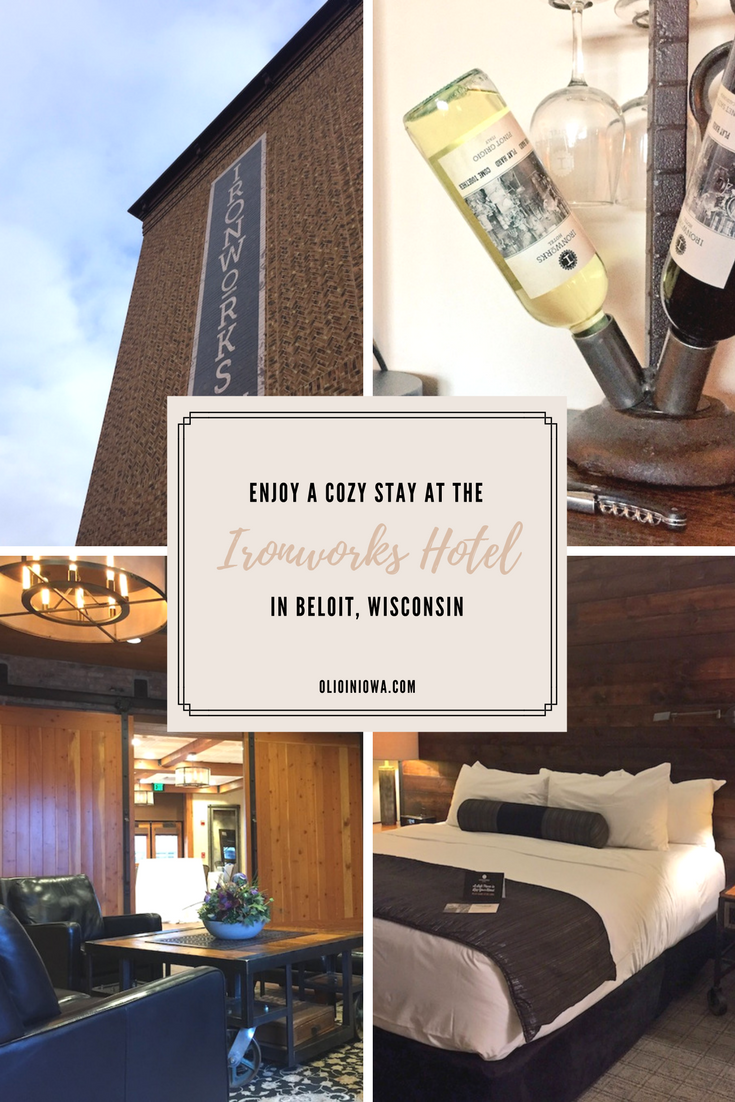 Looking for a place to stay in Beloit, Wisconsin? The Ironworks Hotel combines luxury accommodations with dedication to local history in a way I'd never experienced before.
