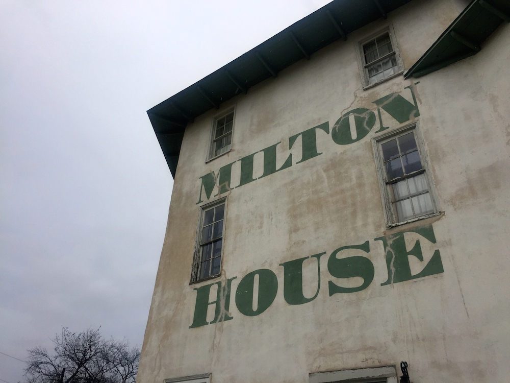 Exterior of Milton House near Janesville, Wisconsin