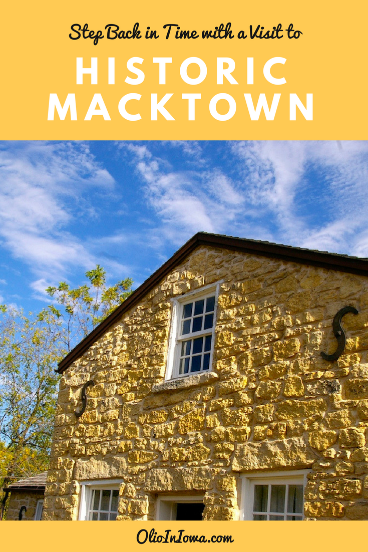 Known as the site of the first settlement in Winnebago County, a visit to Macktown is like stepping back in time. Located in Rockton, Illinois, this historic community is a fantastic way to glimpse life in the 1800s.