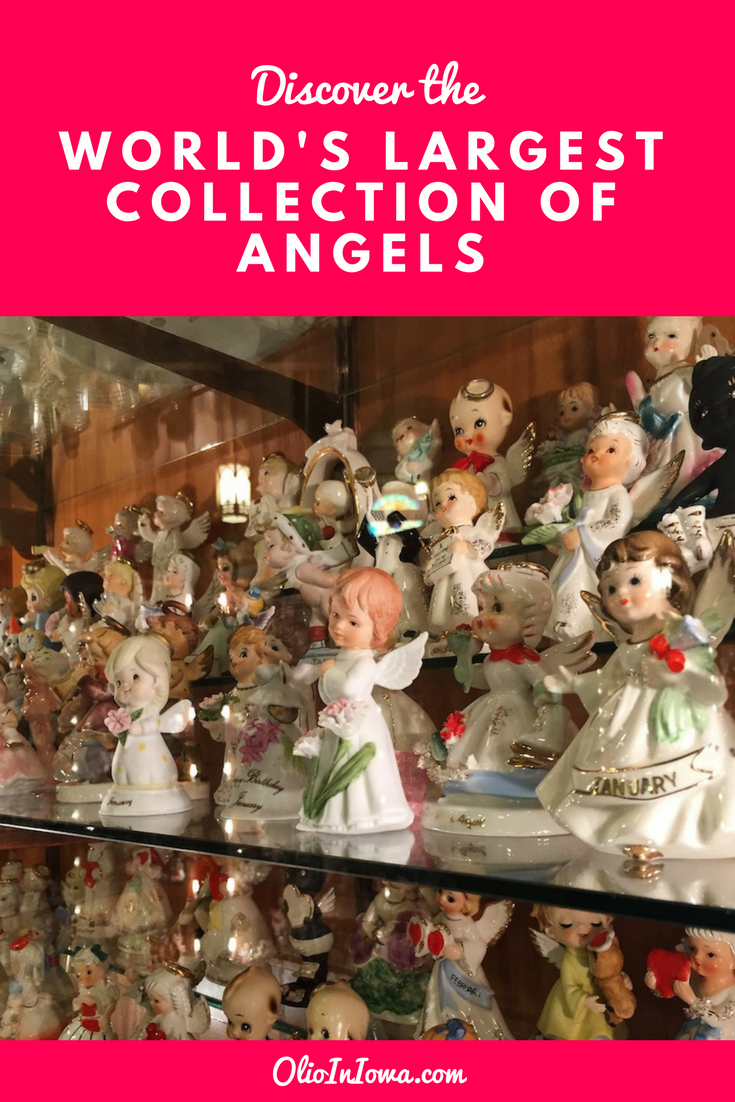 What a heavenly collection! Discover the World's Largest Collection of Angels at the Angel Museum in Beloit, Wisconsin.