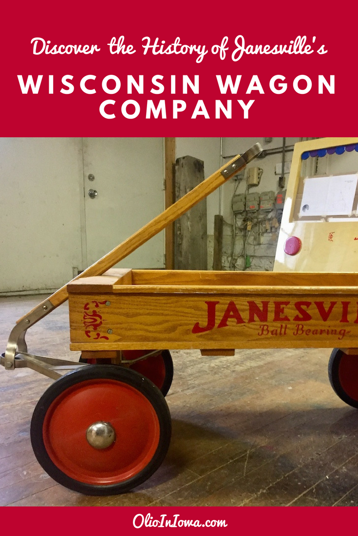 Catch a ride on the Wisconsin Wagon Company's retro Coaster Wagon and discover a unique piece of this Janesville, Wisconsin business' history!