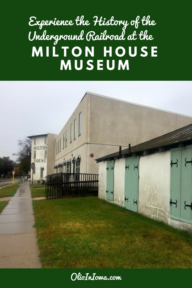 Experience abolitionist history firsthand in Milton, Wisconsin! Spend an afternoon at the Milton House Museum, the last certified Underground Railroad station in Wisconsin, and discover an important piece of American history. #Wisconsin #UndergroundRailroad