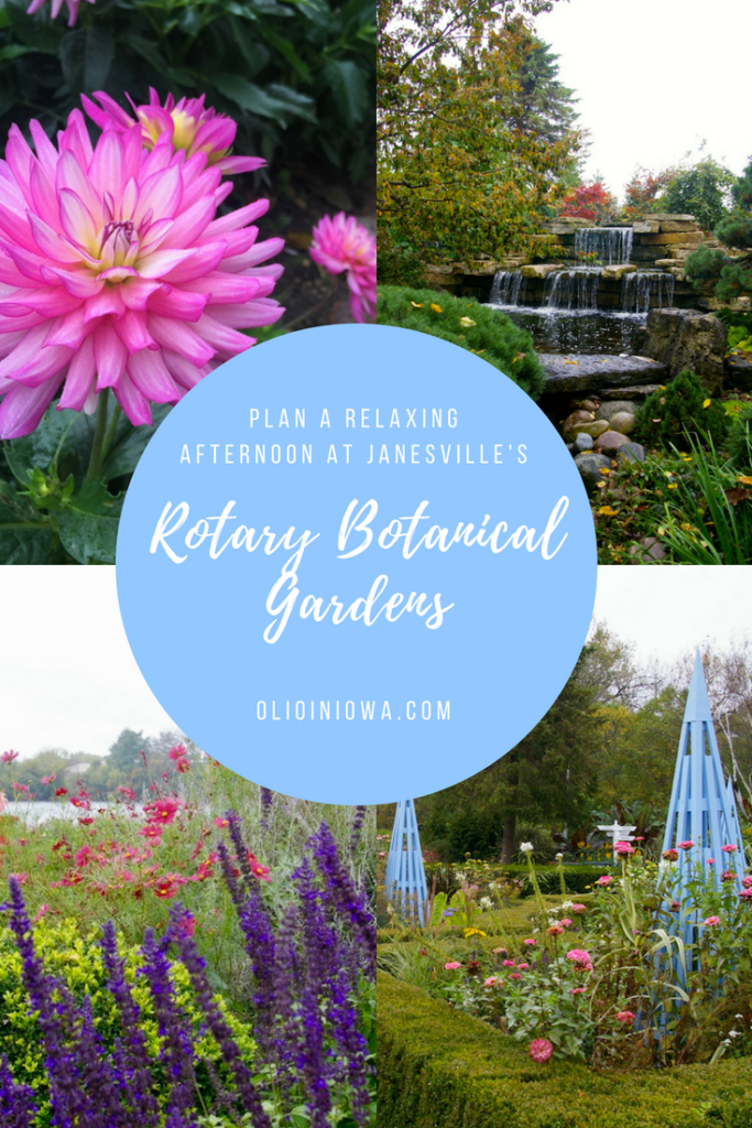Relax and recharge with an afternoon at the Rotary Botanical Gardens in Janesville, Wisconsin! This 20-acre space features 24 themed gardens and more than 4,000 varieties of beautiful blooms. #Wisconsin