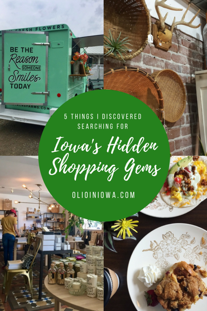 Where do you love to shop? Read about five things I discovered while searching for some of Iowa's hidden shopping gems for Travel Iowa! #Iowa #ShopSmall #ThisIsIowa