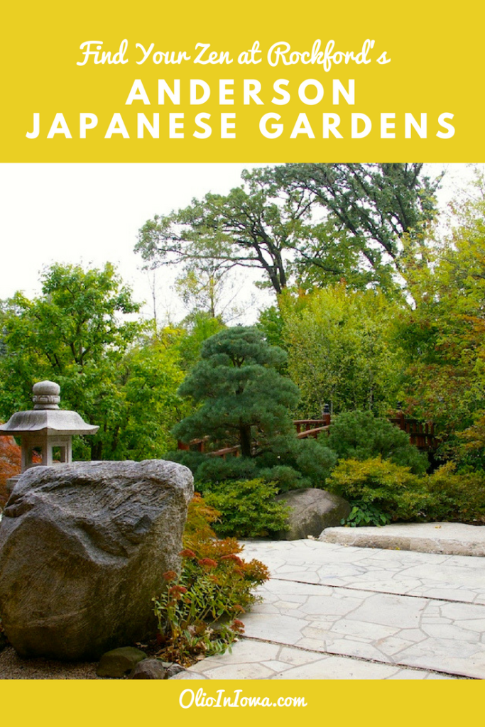 Feeling stressed or uninspired? Find your zen at Anderson Japanese Gardens in Rockford, Illinois. #Illinois #Rockford #JapaneseGarden