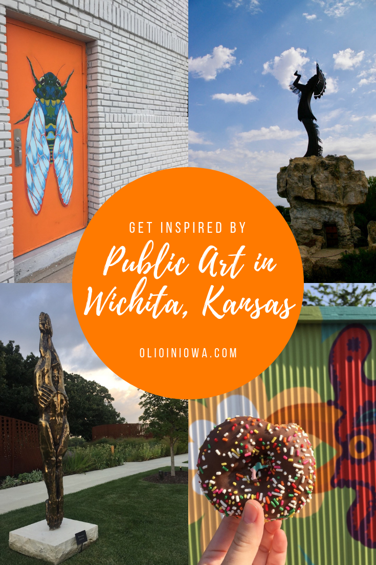 Need some creative inspiration? Discover five places you can find inspiring public art in Wichita, Kansas! #Wichita #Kansas #publicart