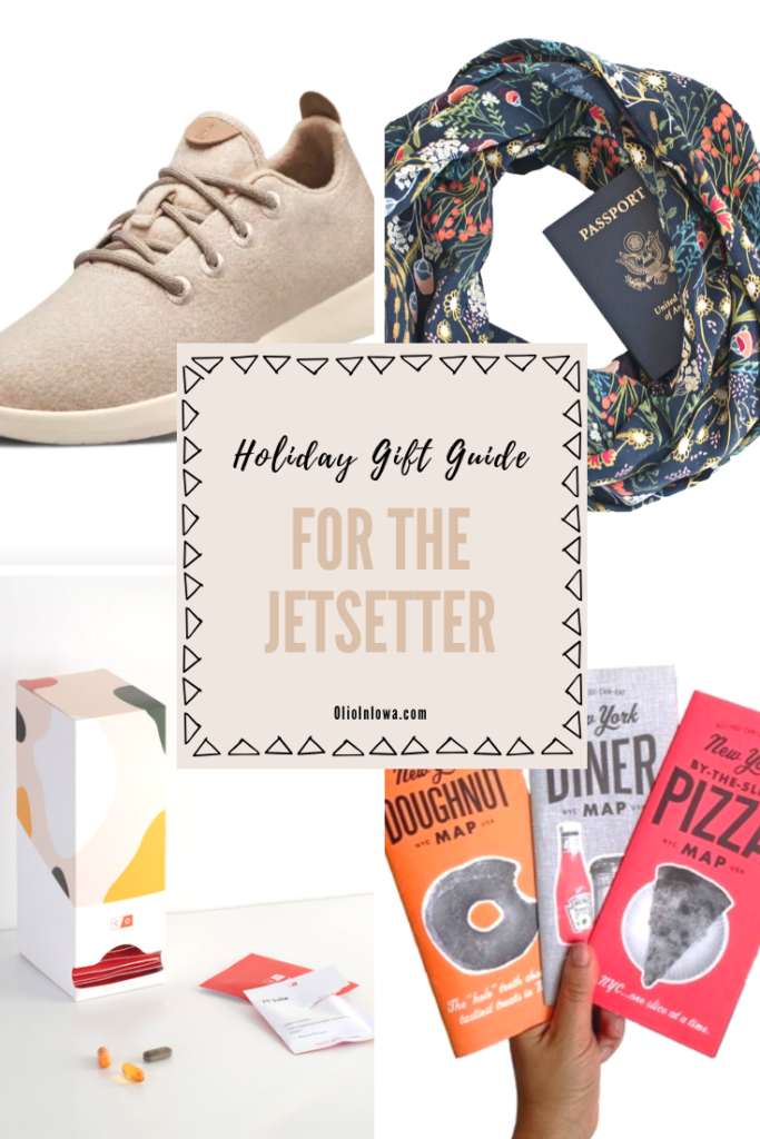 Looking for the perfect holiday gift for the jetsetter in your life? Shop presents sure to make their next trip an epic adventure! #GiftGuide #HolidayGiftGuide #TravelGiftIdeas