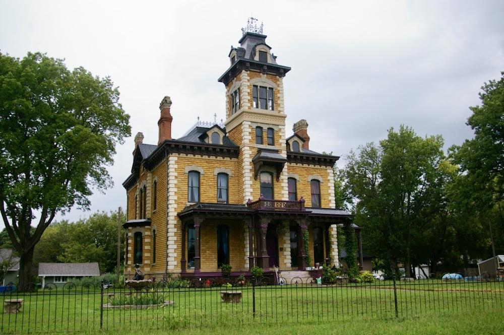 Historic Victorian home in Abilene, Kansas