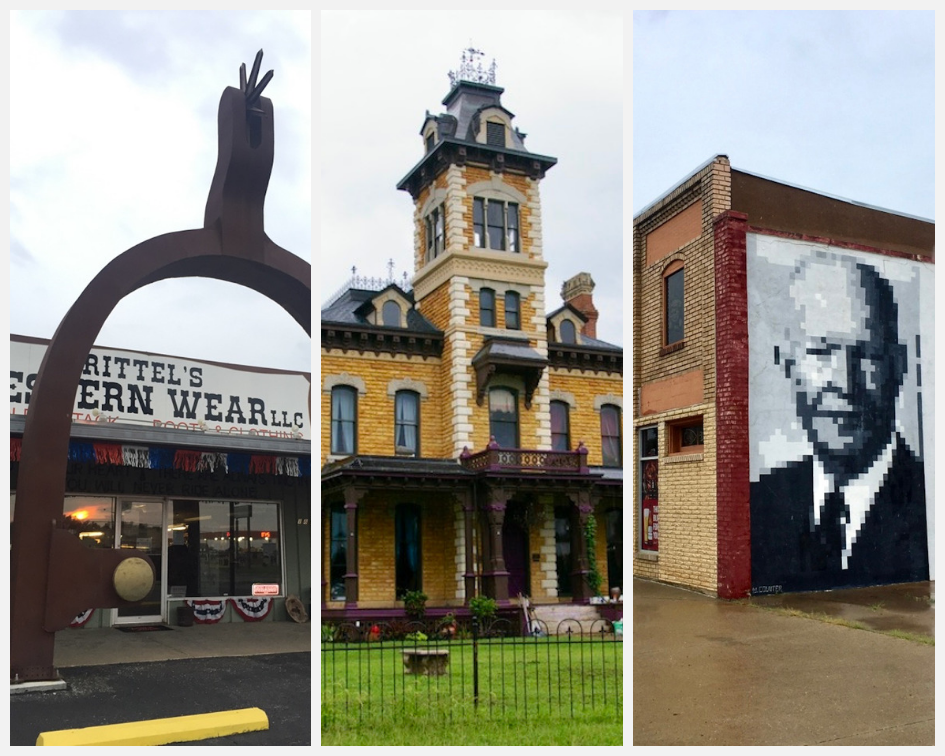 Looking for a small town full of charm and local history? There are so many things to do in Abilene, Kansas! #Abilene #Kansas #Midwest