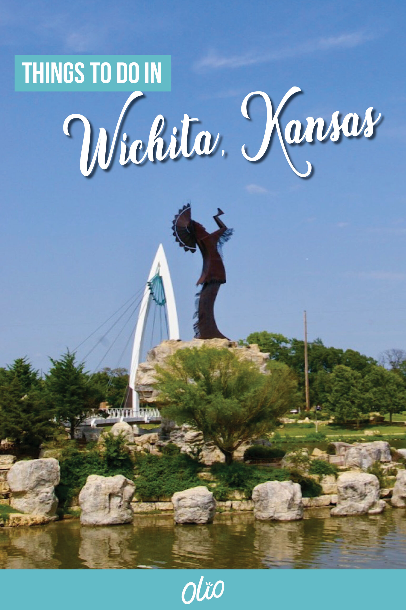 """Before you claim that there's nothing to do in """"flyover country,"""" take the time to look and discover these15 fantastic things to do in Wichita, Kansas. From visiting the Keeper of the Plains to enjoying amazing restaurants and breweries and more, there are lots of things to see and places to visit in Wichita. #Wichita #Kansas #Midwest #MidwestTravel"""