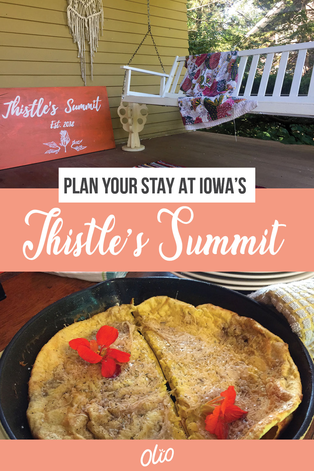 Discover the perfect location for your next Midwestern weekend getaway at Thistle's Summit in Mount Vernon, Iowa! Located steps from the Cornell College campus, Thistle's Summit is a queer bed and breakfast focused on community, creativity and inclusivity. Enjoy phenomenal food, tap into the community's artistic spirit, and, of course, meet Thistle the dog. There's no better place to plan a weekend getaway than Mount Vernon!