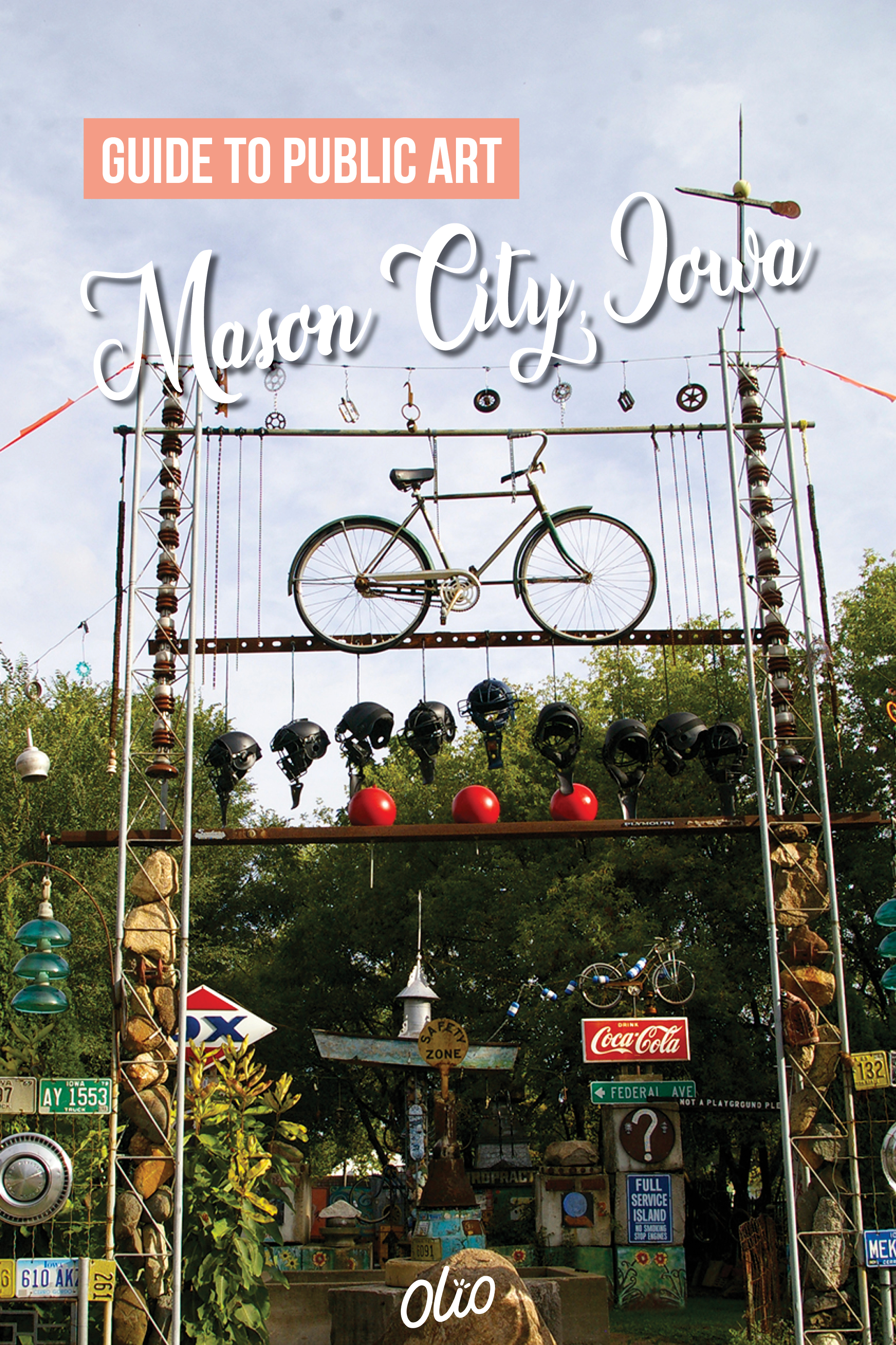 There are so many ways to experience art in Mason City, Iowa! From a renowned museum and expansive sculpture walk to vibrant murals and offbeat folk art, there's something for everyone to see when you travel to this north Iowa community. #Iowa #MasonCity #publicart