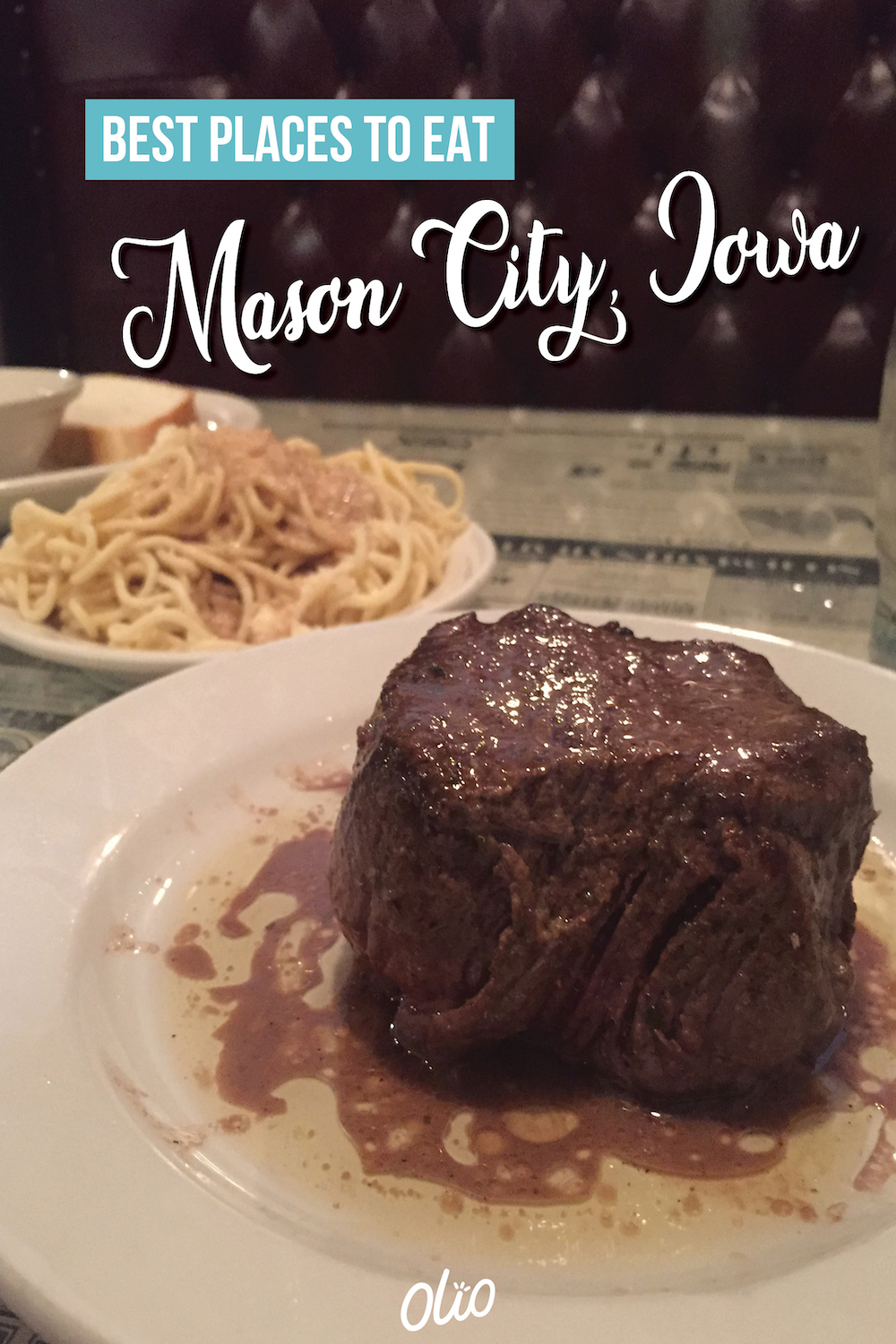 From classic steakhouses and delis to Mexican restaurants and ice cream shops, there are tons of incredible places to eat in Mason City, Iowa! Visit a craft brewery for a locally brewed pint, eat dinner at a 100-year-old steakhouse, indulge in some of the state's best ice cream and so much more. #Iowa #MasonCity