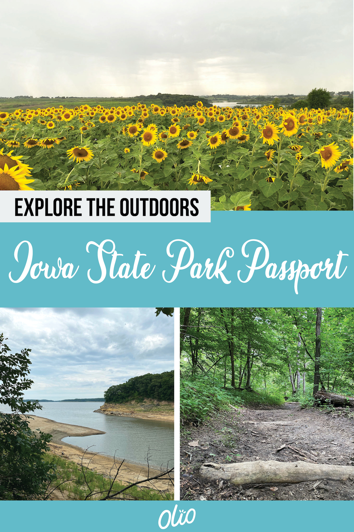 Looking for a way to explore the outdoors this summer? Look no further than the Iowa State Parks Passport program! Find outdoor spaces around the state and check in virtually for the chance to the Grand Prize. Need suggestions of Iowa State Parks to visit? I've got you covered! #Iowa #TravelIowa