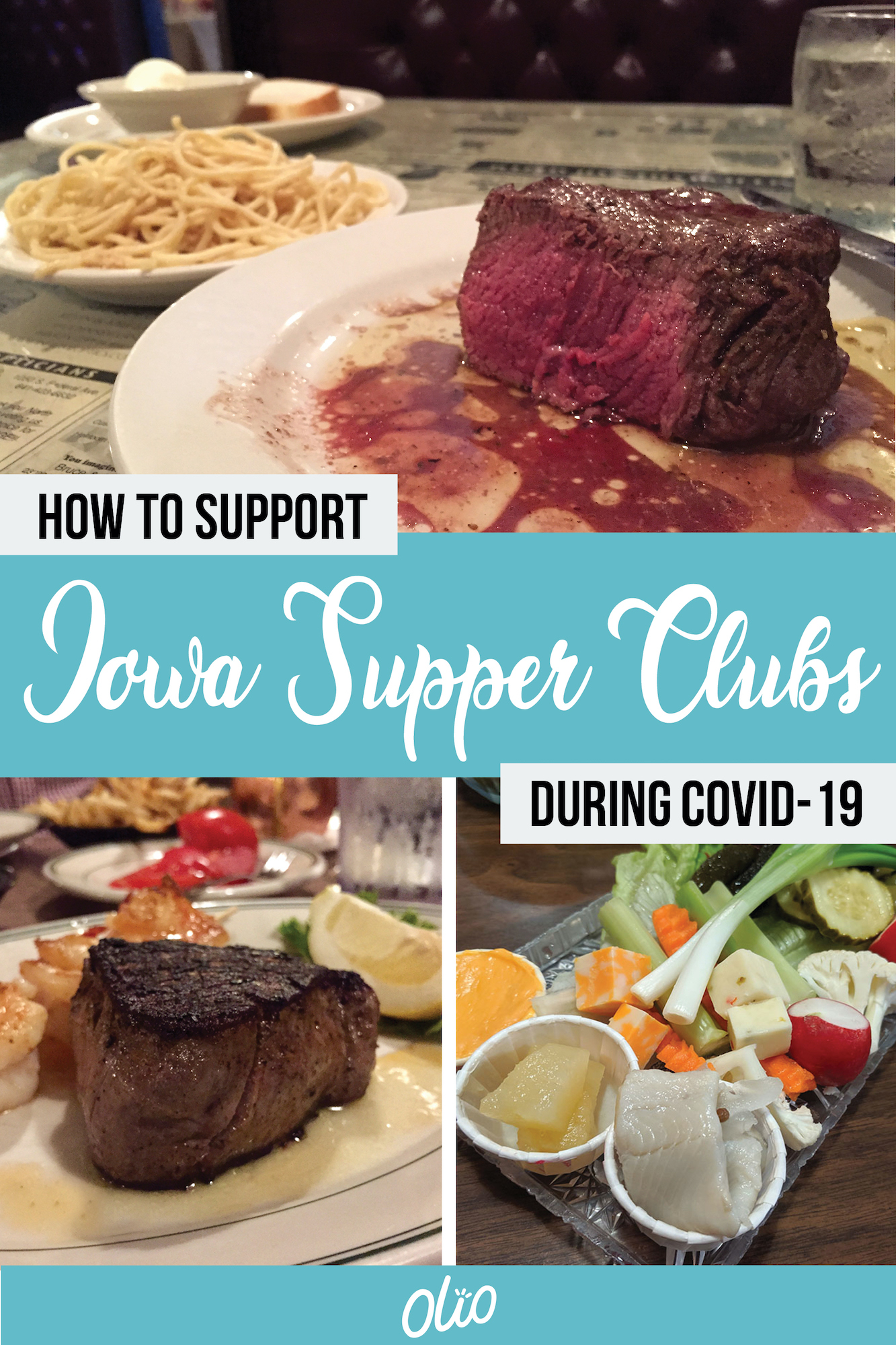 Local restaurants need your support now more than ever! If you're looking for a way to safely support Iowa supper clubs during the COVID-19 pandemic, this post includes a complete list of supper clubs, their current hours and up-to-date practices to keep their staff and diners safe. #Iowa #SupperClub #Steakhouse