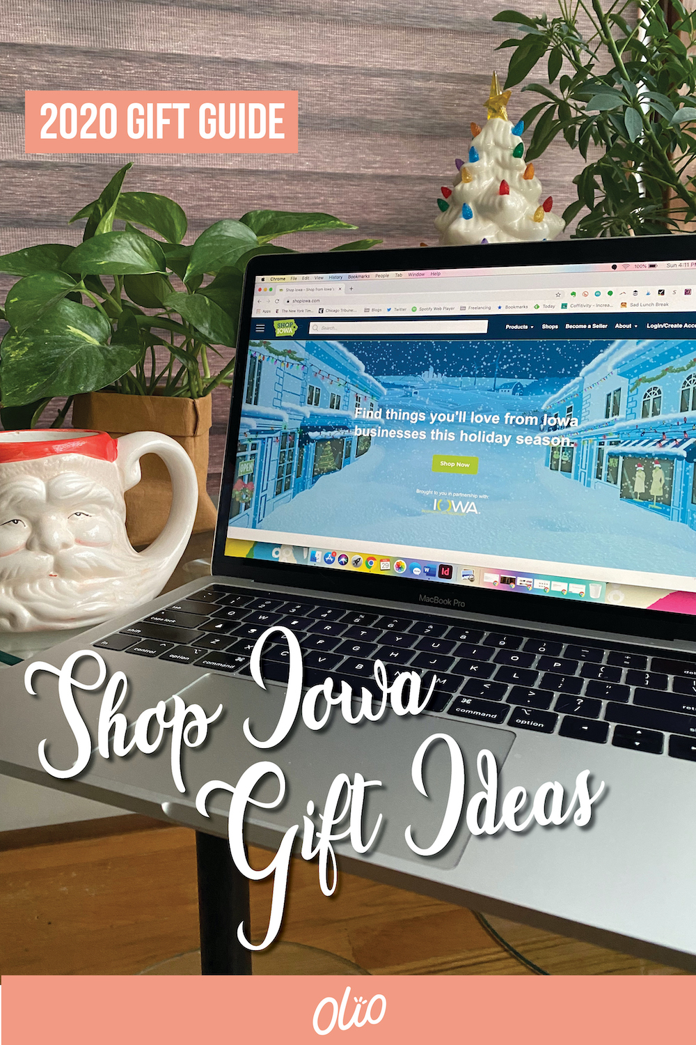 Support Iowa small businesses this holiday season with Shop Iowa! This new online platform from Travel Iowa lets you shop for gifts from businesses around the state in a quick and easy way. Discover gifts that are perfect for everyone on your holiday list! #giftguide #Iowa #TravelIowa #ShopIowa