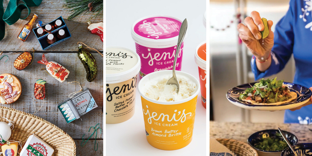 Olio in Iowa's 2020 Holiday Gift Guide: Food-inspired Christmas ornaments, Jeni's Splendid Ice Cream, Airbnb Experiences
