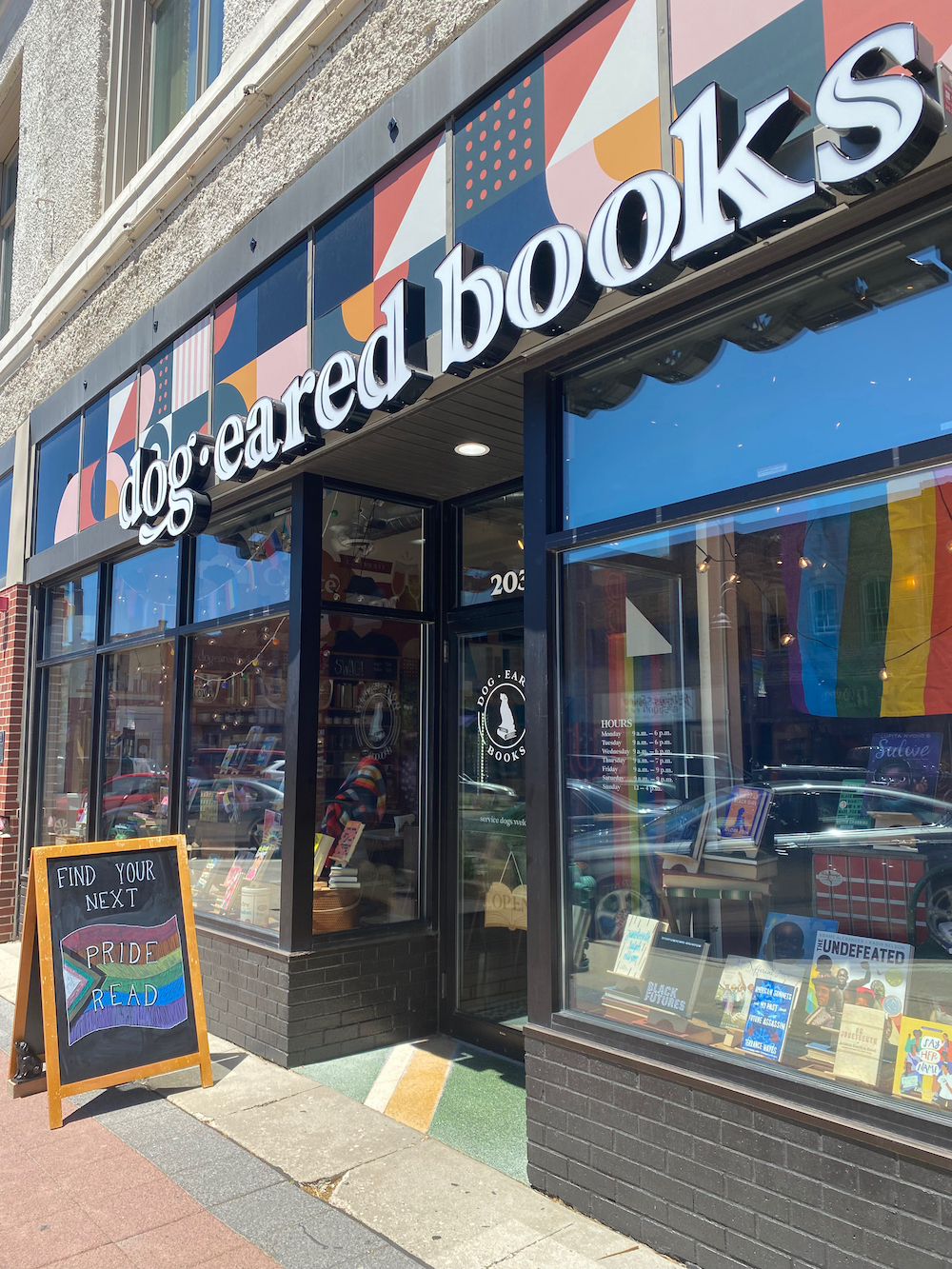 Exterior of Dogeared Books in Ames, Iowa