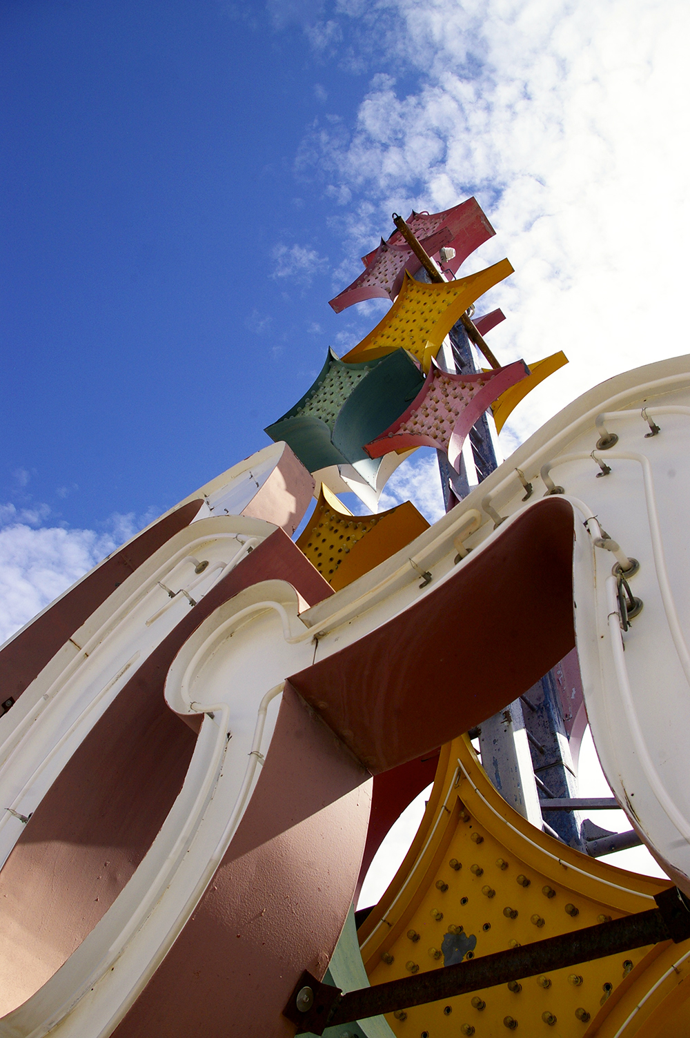 Vintage neon sign at the Neon Museum in Las Vegas, Nevada
