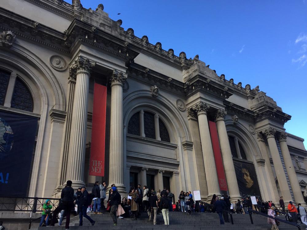 Exterior of the Metropolitan Museum of Art in New York City